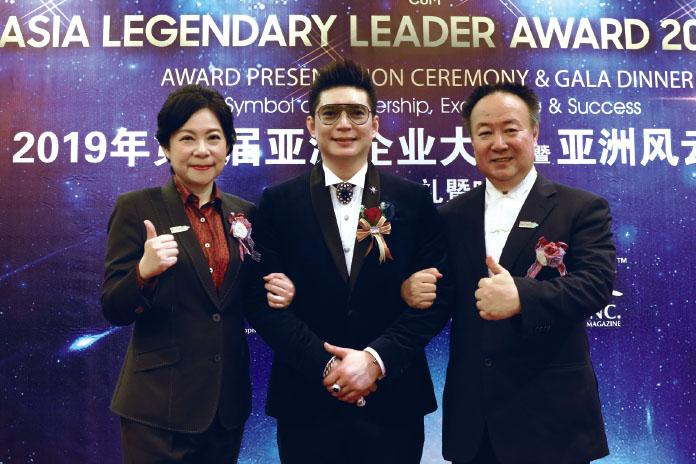 馬國皇子親頒亞洲風雲人物獎 謝沅瑾、張淯國際爭光再獲殊榮